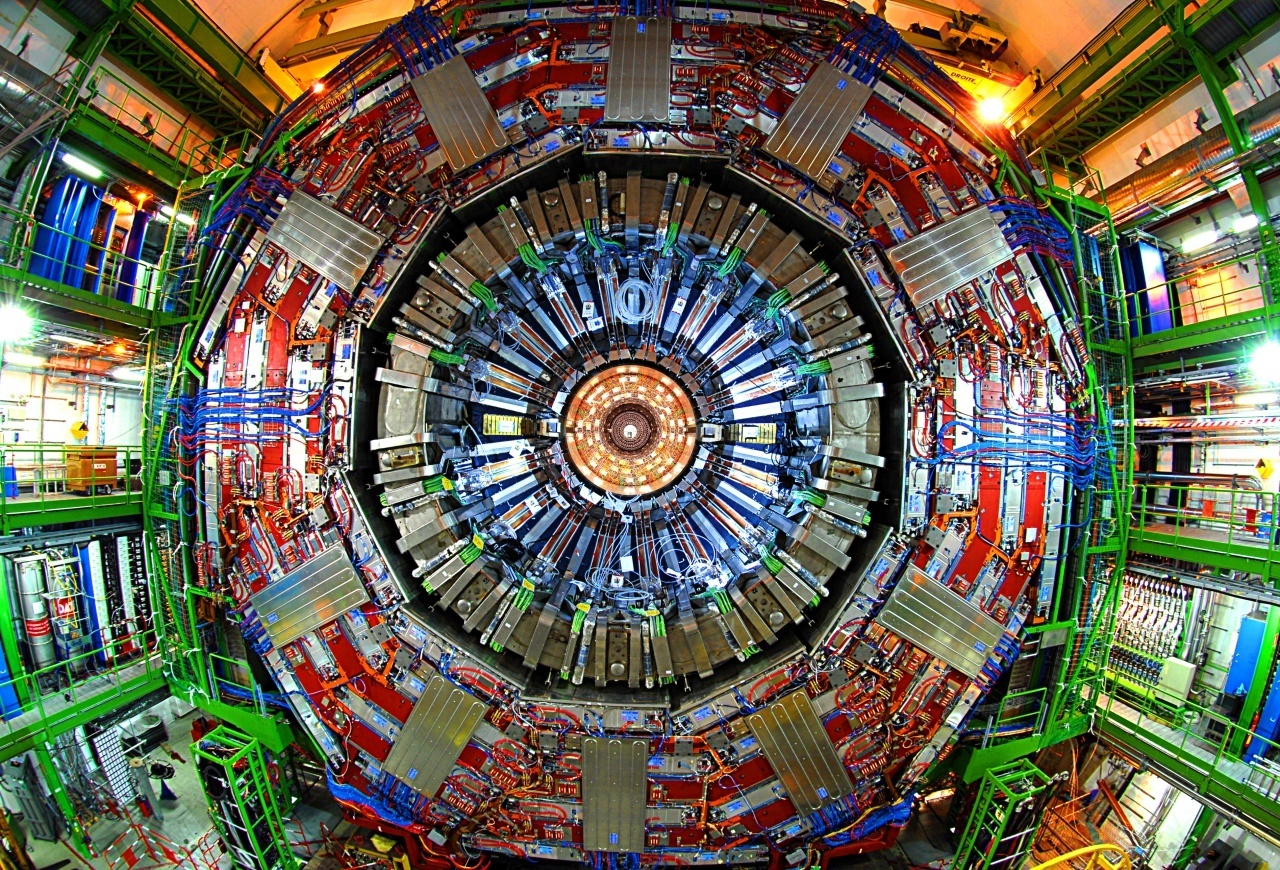 Picture of the CMS detector